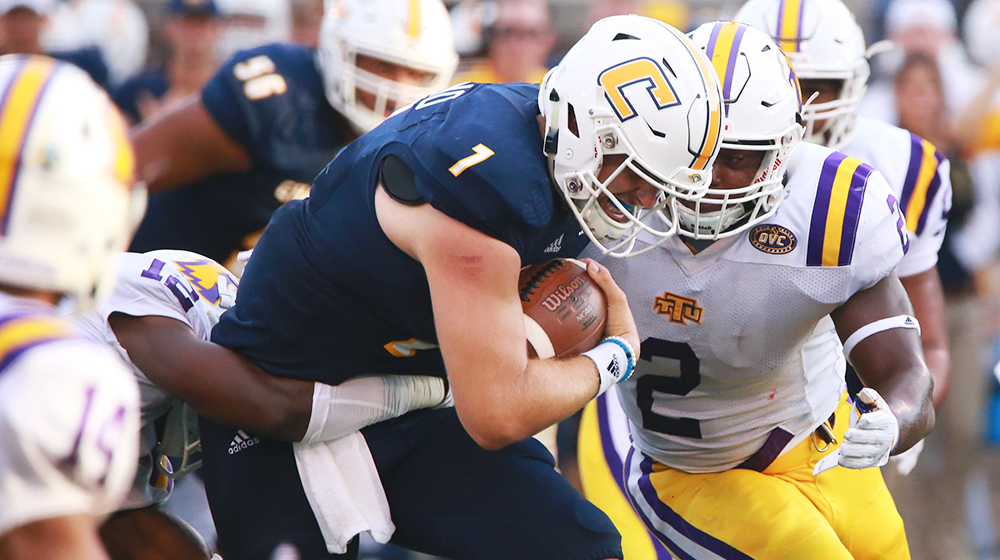 Turnovers trip up Tech in season opener at Chattanooga