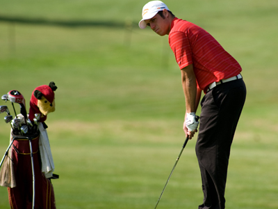 Joe Brown and Ferris State place 22nd in final fall season men's golf national rankings. (Photo by Ed Hyde)