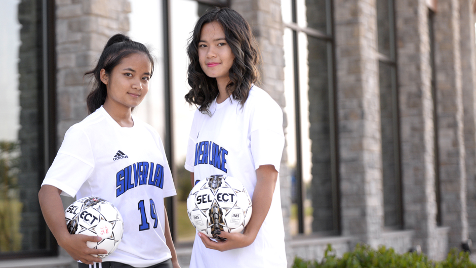 Born in refugee camp, SLC duo sets sights on future