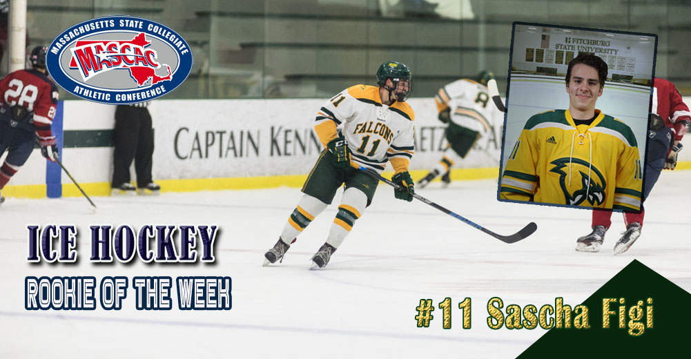 Figi Named MASCAC Ice Hockey Rookie Of The Week