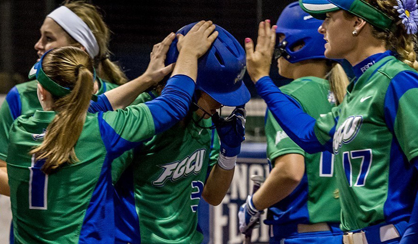 FGCU Completes Sweep of UNF, Claims First in #ASUNSB Standings