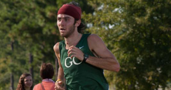 Mattix Paces Men's Harriers to Second Place Finish