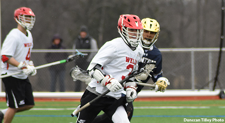 First-Half Surge Propels Canton To Men's Lacrosse Win