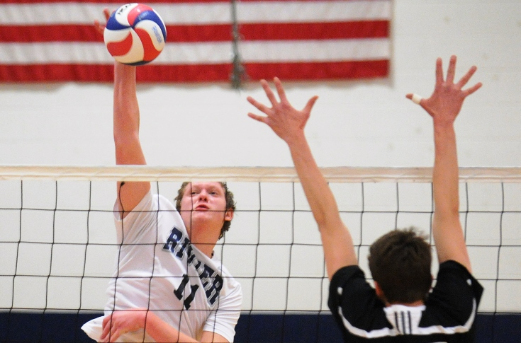 Men's Volleyball: Rivier sweeps Emmanuel; advance to GNAC Semi-finals