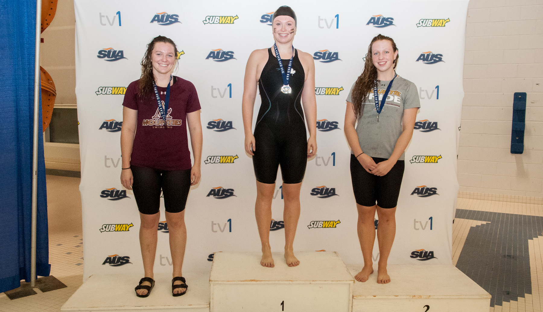 Mounties add to medal count on Day 2 of Subway AUS Swim Championships