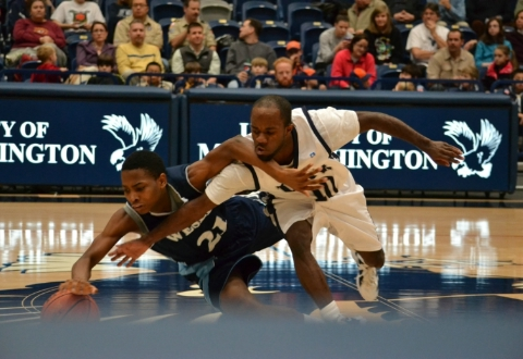 UMW Men's Basketball Tops Wesley, 83-69, to Improve to 7-0 in CAC Play