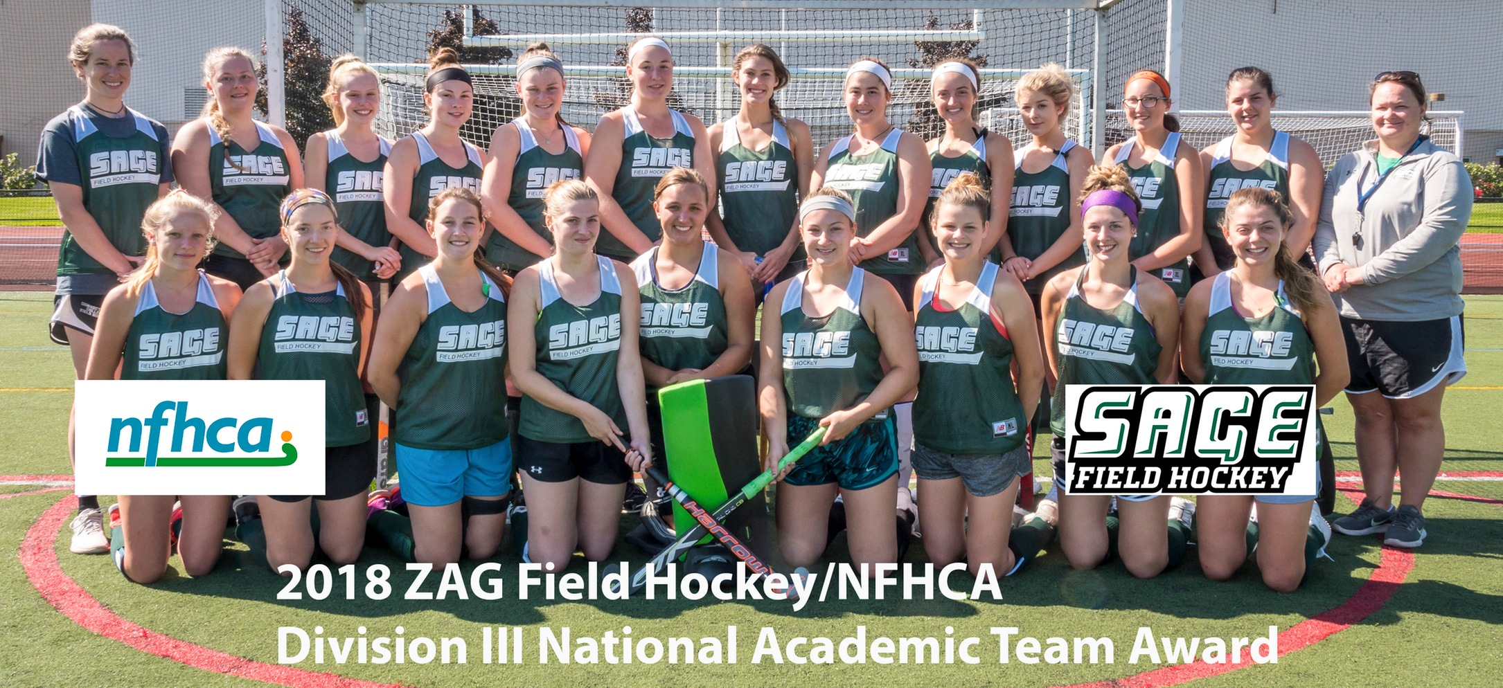 Sage Field Hockey Program Saluted for Academic Success by NFHCA