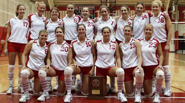 2001 Wittenberg Volleyball