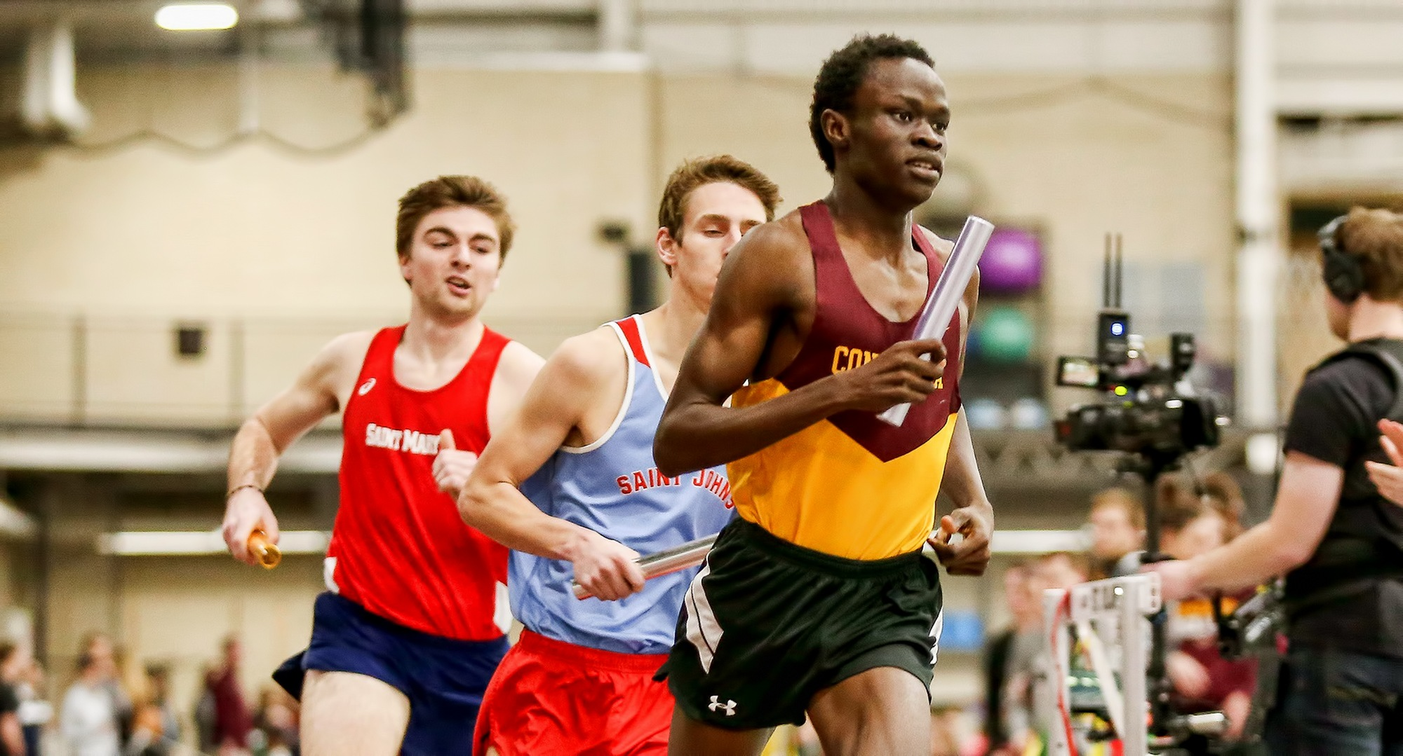 Junior Munir Isahak posted a career-best time in the mile at the UND Tune-Up Meet which was the seventh fastest in the MIAC this year.
