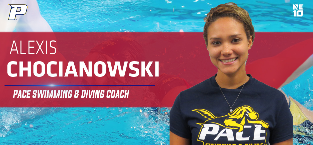 Chocianowski Promoted to Head Coach of Pace Swimming & Diving