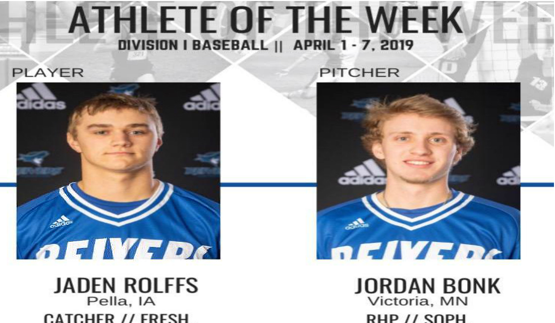 Reivers Sweep Conference Players of the Week