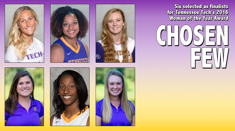 Six selected as finalists for Tennessee Tech's 2016 Woman of the Year Award
