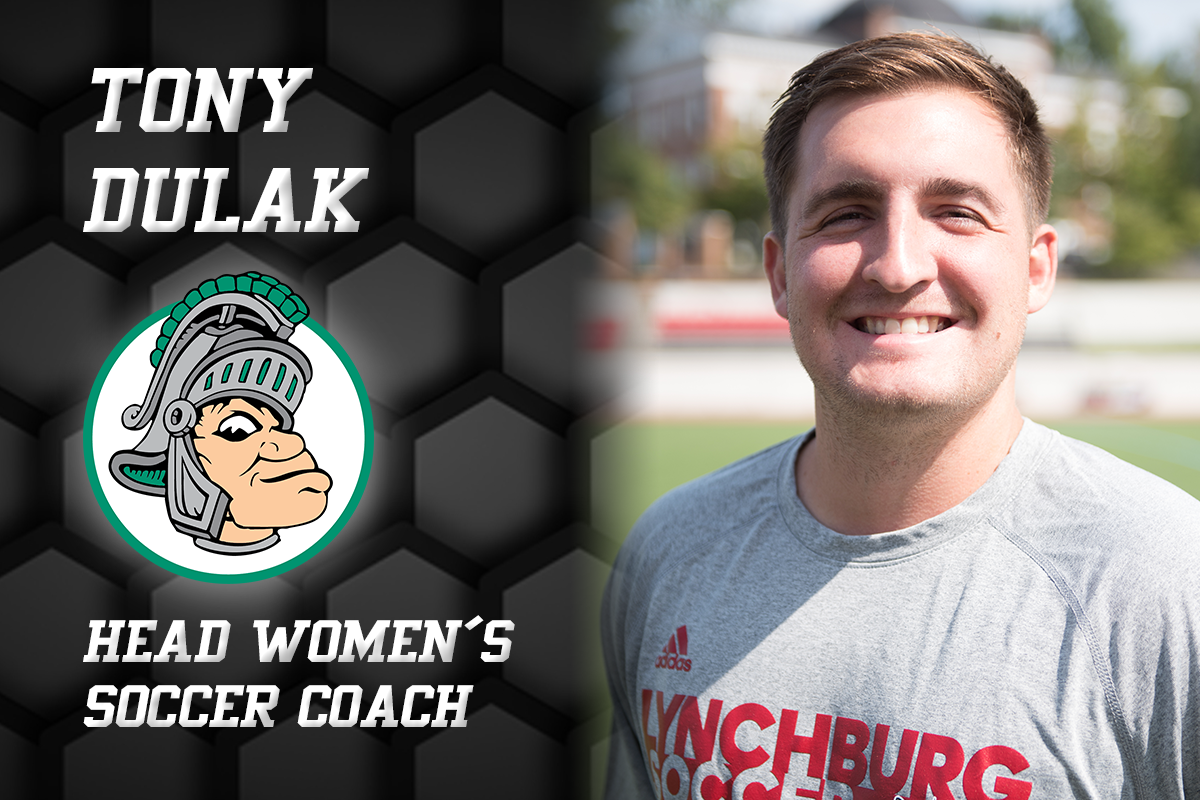 Tony Dulak, illinois wesleyan logo, head women's soccer cocah