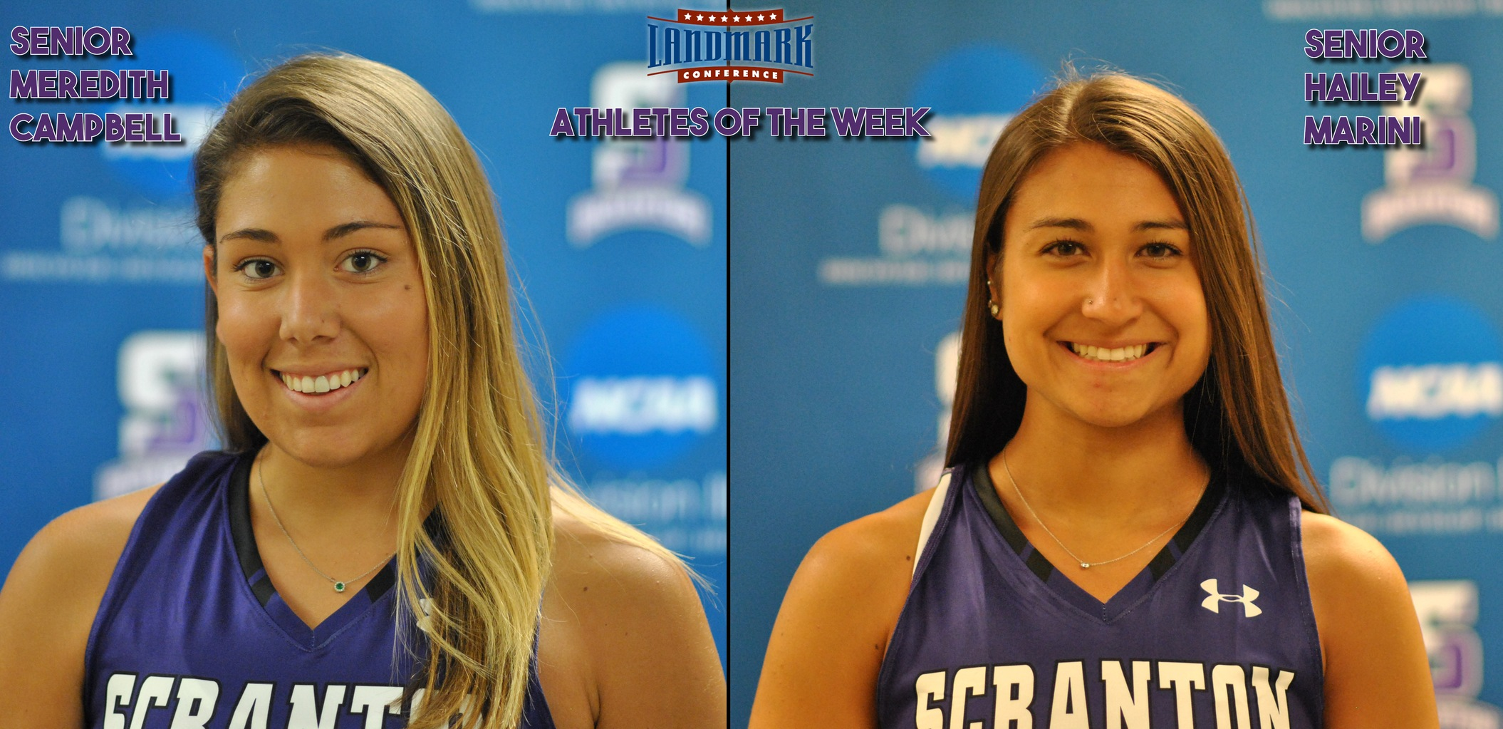 Campbell, Marini Sweep Field Hockey Landmark Conference Athlete of the Week Awards
