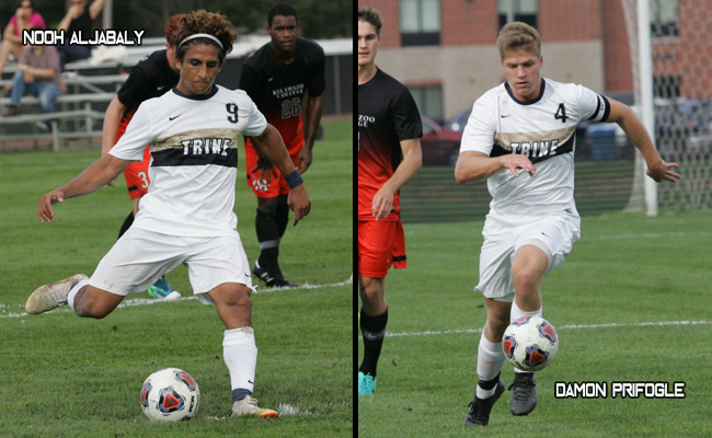 Aljabaly Highlights Men's Soccer All-MIAA Selections For Trine