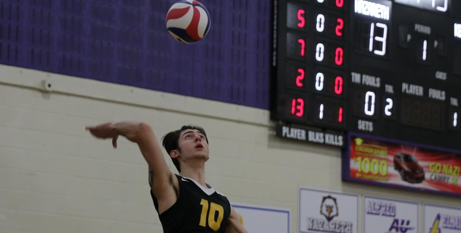 Alex Boglev (10) led Keuka with 6 kills on Saturday