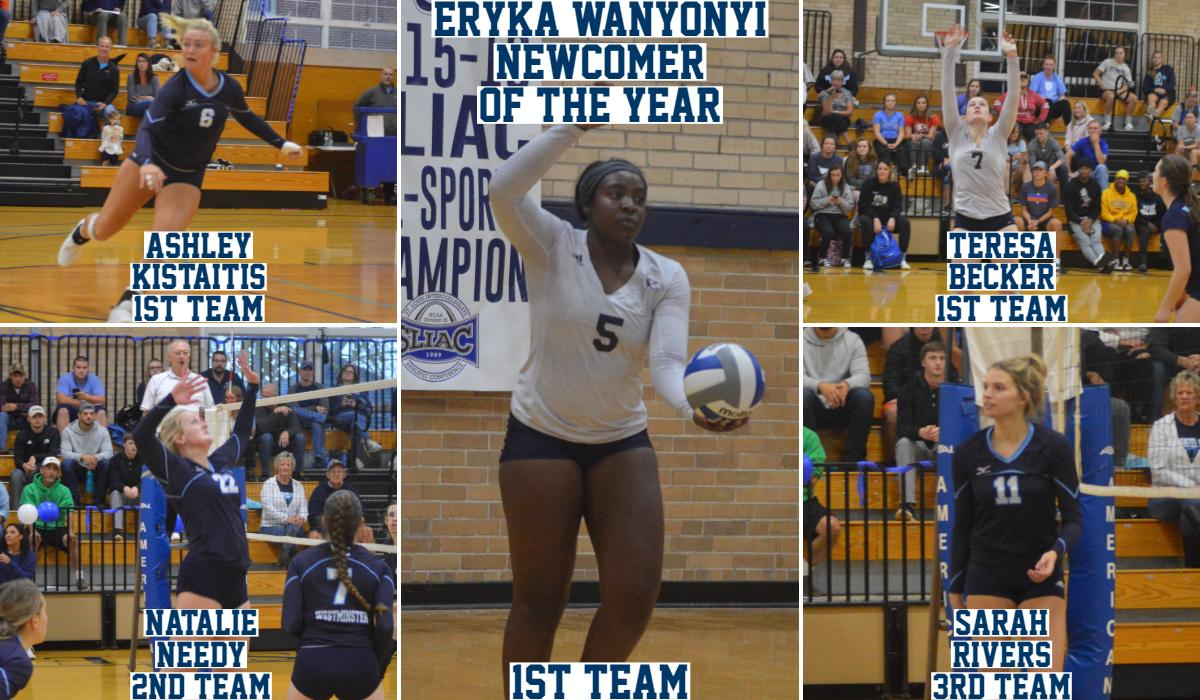 Wanyonyi Wins Newcomer of the Year, Five Blue Jays Named to All-Conference Teams