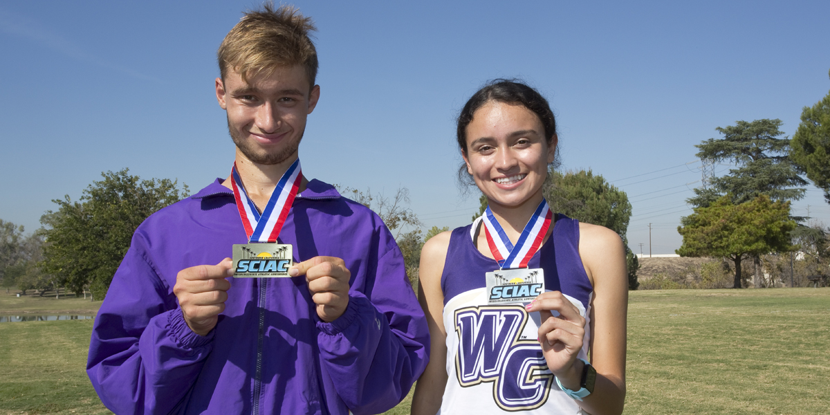 Cross Country Competes at SCIAC Championships