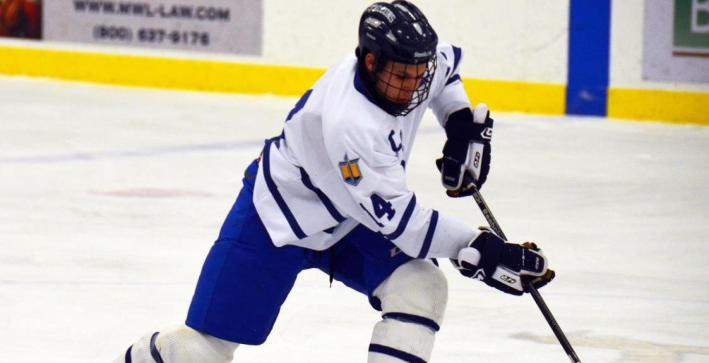 Men's Hockey scores three power-play goals, falls at Marian