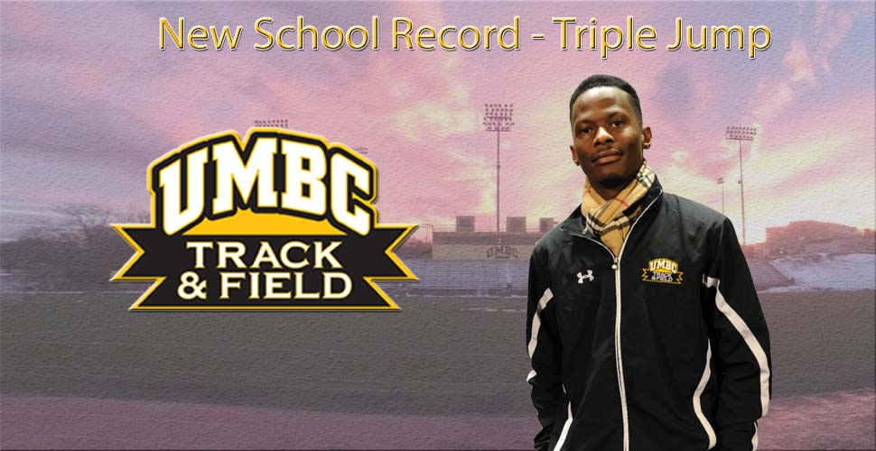 Johnson Breaks School Record; UMBC Track and Field Concludes ECAC/IC4A Championships on Sunday