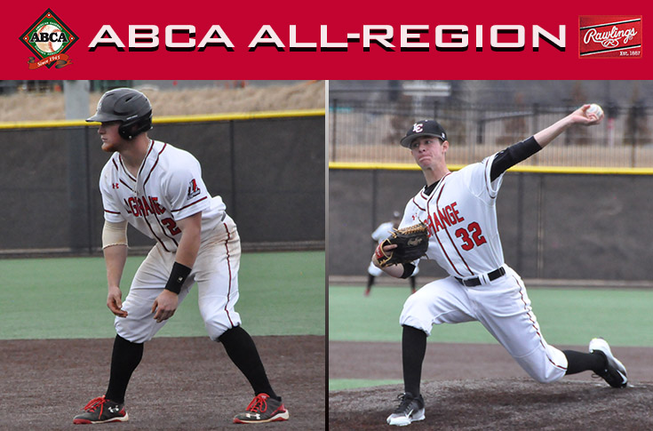 Baseball: Butcher, Broaderick selected to ABCA/Rawlings Division III South All-Region