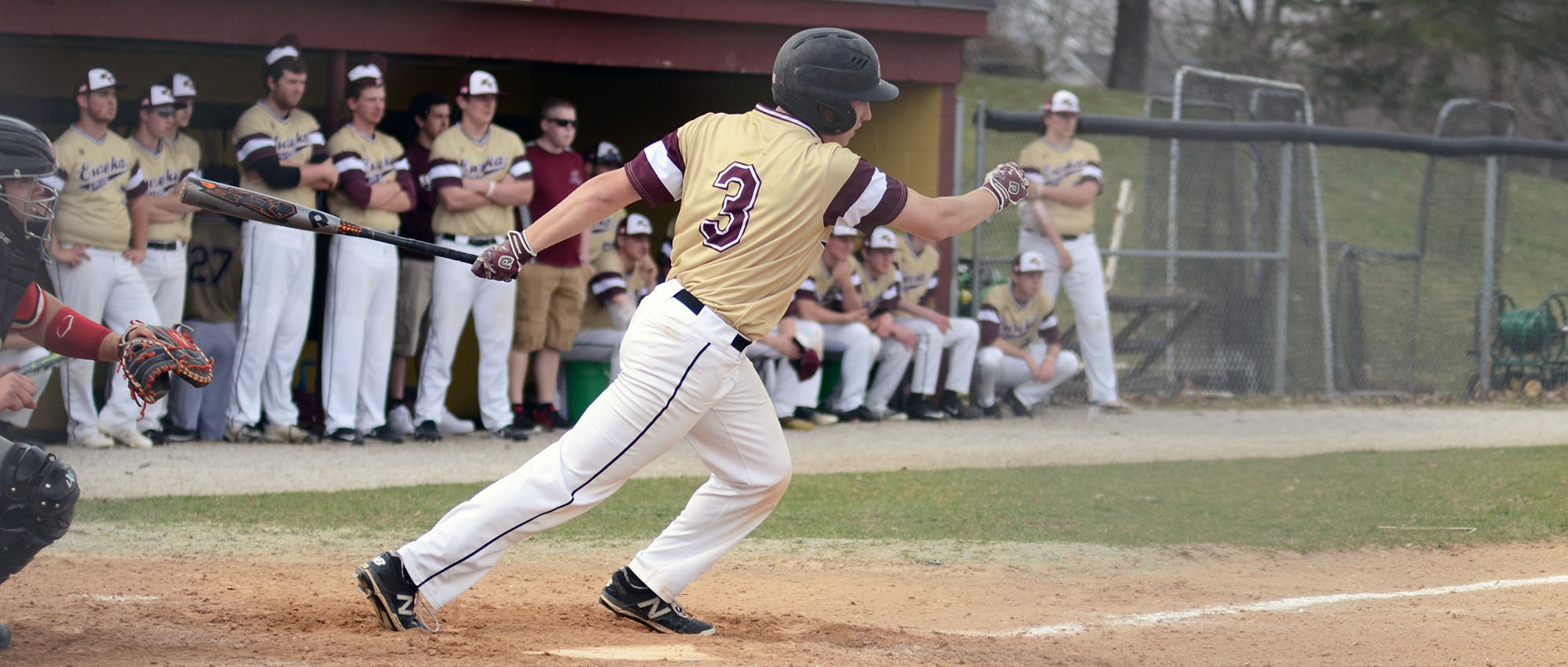 Eureka Blanked in West Division Series Finale at Webster, 6-0