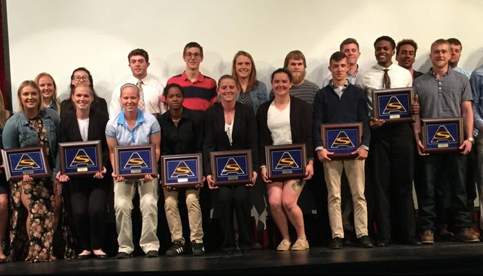 Athletic Department Honors Student-Athletes