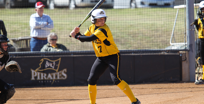 Softball Sweeps Sunday Series Over Trinity