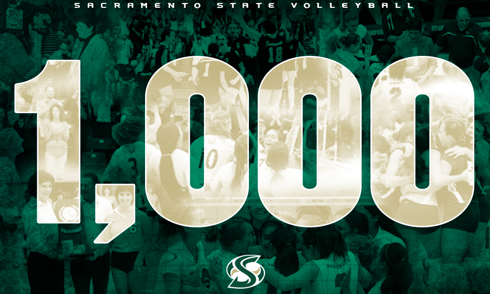 VOLLEYBALL BEATS SOUTHERN UTAH, WINS 1,000TH MATCH IN PROGRAM HISTORY