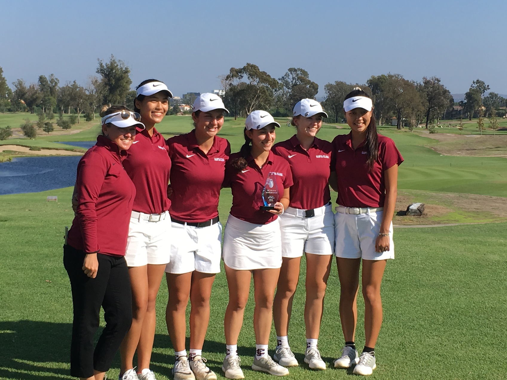 Women's Golf Cards Record Low Total; Takes Second At UC Irvine Invitational