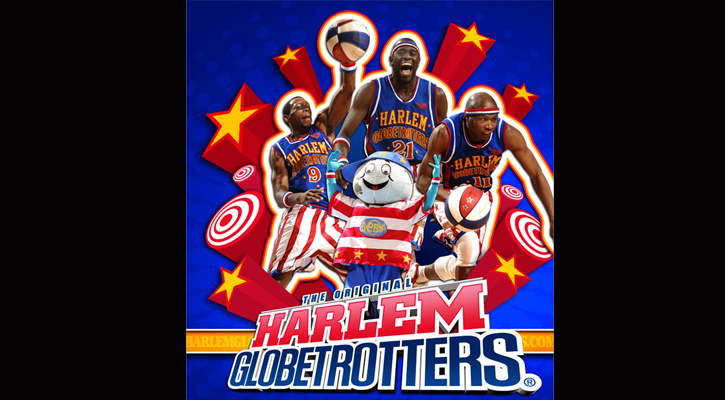 HARLEM GLOBETROTTERS COME TO MILLEDGEVILLE WEDNESDAY