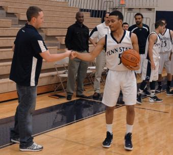 Rasheed Wilkins scores his 1,000 point.