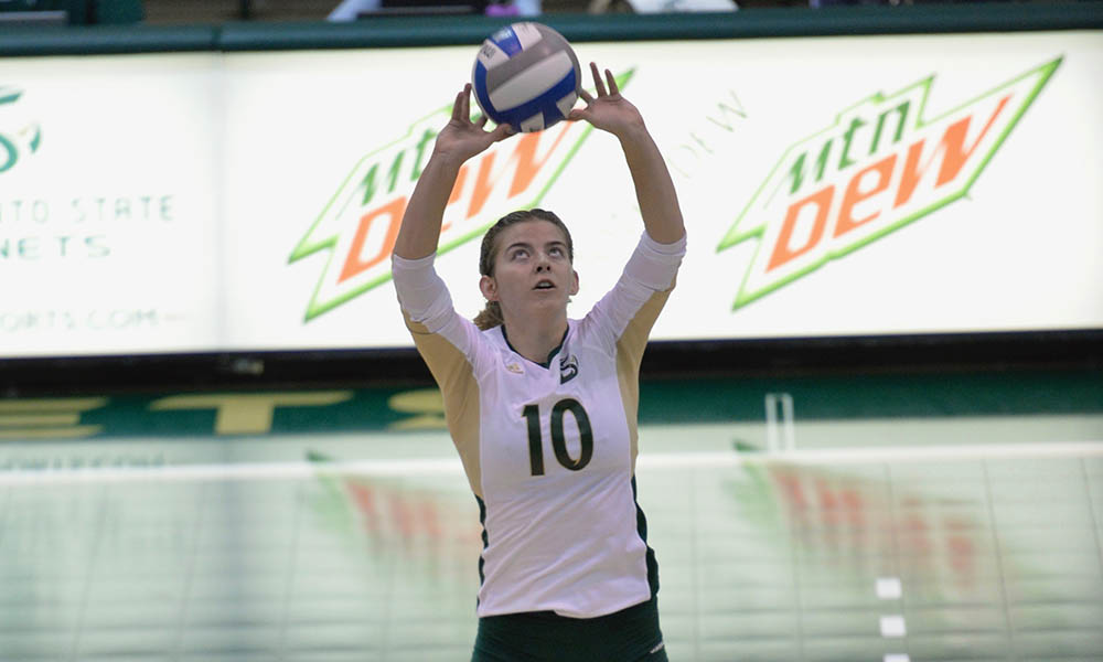 VOLLEYBALL SPLITS ROAD TRIP AFTER THREE-SET SWEEP AT SOUTHERN UTAH