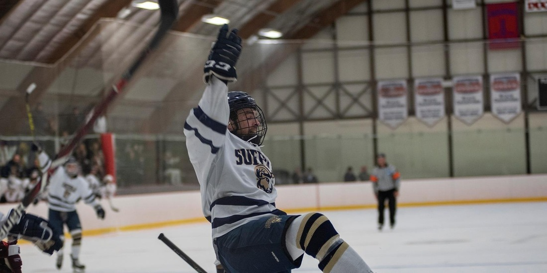 Men's Hockey Bests Castleton, 4-1, in Military Appreciation Night, Home Finale