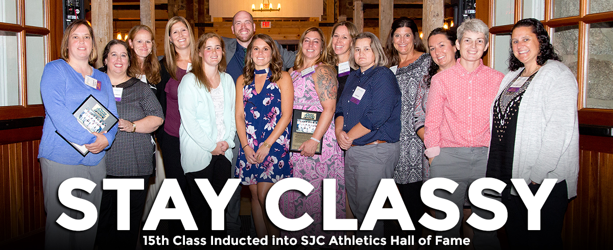 2017 SJC Athletics Hall of Fame Class Inducted