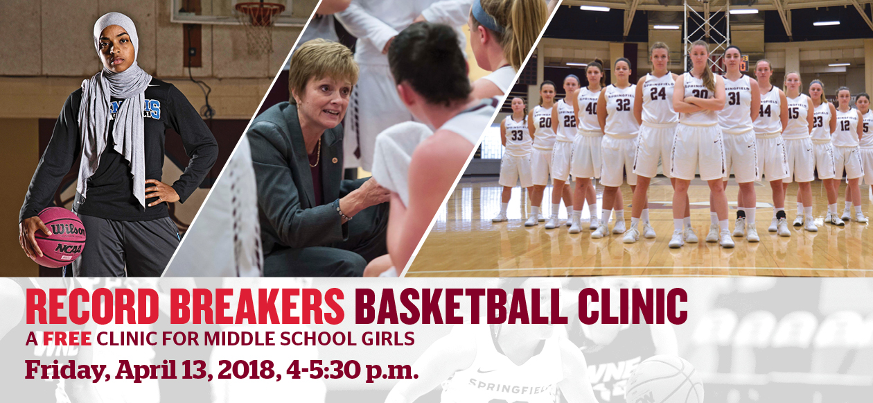 Springfield College to Host Record Breakers Basketball Clinic April 13