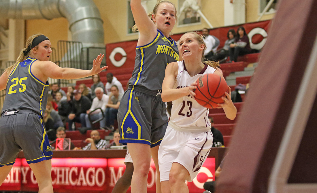 UChicago Women's Basketball Rolls North Park 78-36