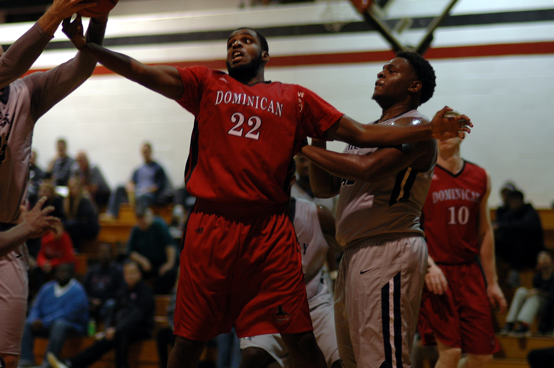 BEARS UPEND MEN'S BASKETBALL