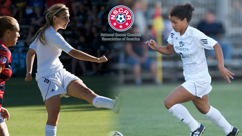 WOMEN'S SOCCER'S ROLLING AND TRENTON NAMED SCHOLAR ALL-WEST REGION