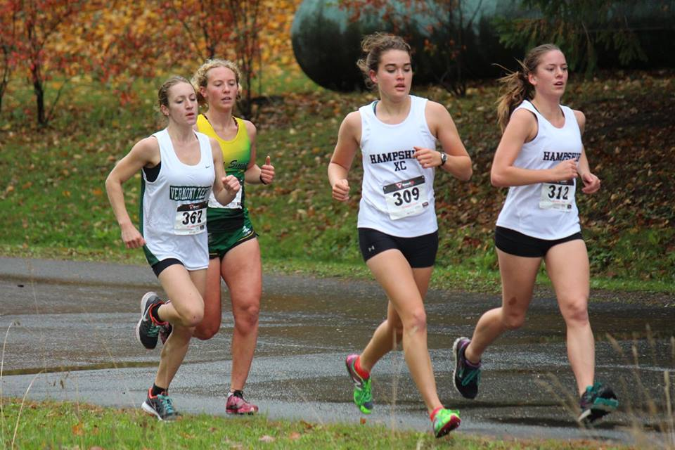 Rebecca Broadbent of Vermont Tech wins YSCC Cross Country Championship