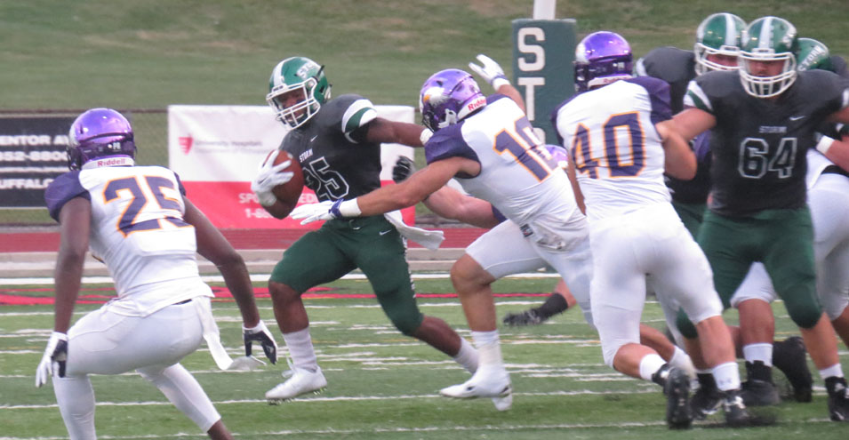 Bilal Rushes for Three TDs but Storm Falls in Opener to Ashland