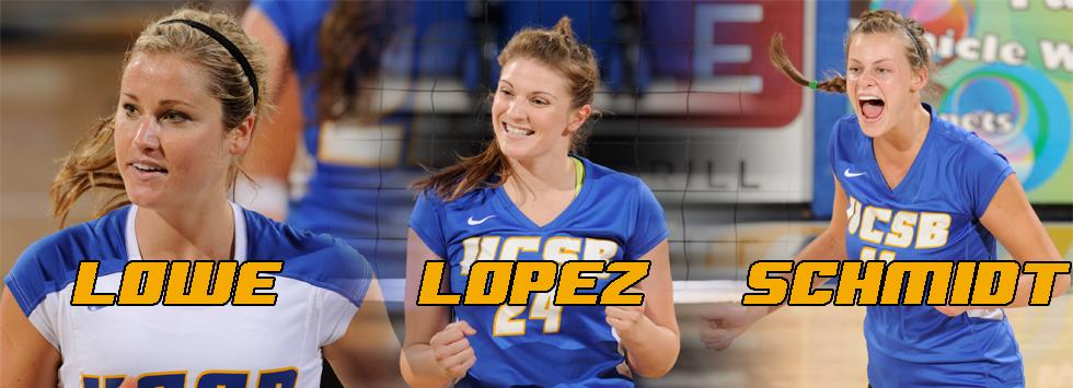 Five Gauchos Honored as All-Big West Picks