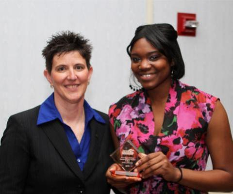 Amie Jefferson named recipient of 2011-2012 Aggie Stillman Perseverance Award