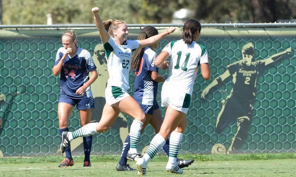 WOMEN'S SOCCER OUTLASTED BY SAINT MARY'S 2-1