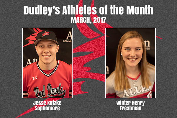 Dudley's March Athletes of the Month