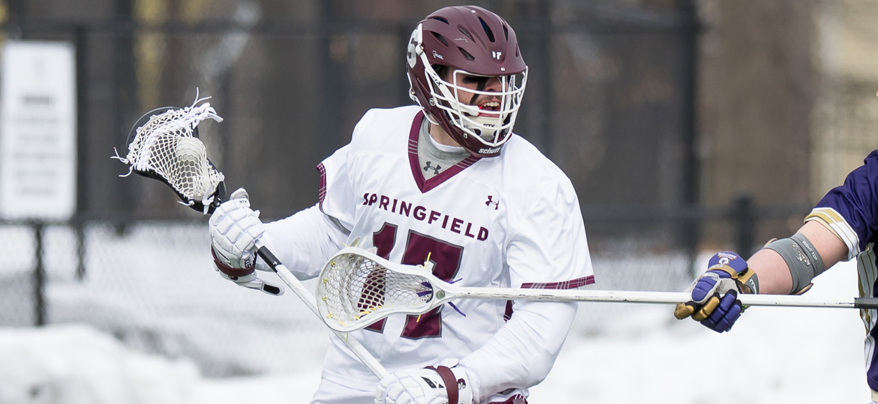 Men's Lacrosse Begins NEWMAC Play With 21-5 Victory Over Emerson
