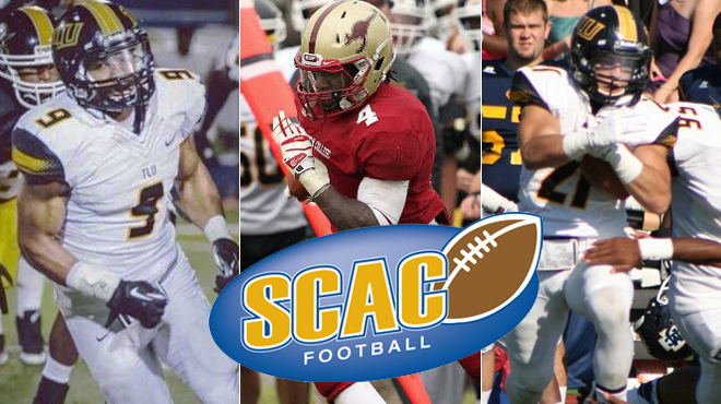 TLU's McGuire. Dowling; Austin College's Nwankpah Named SCAC Football Players of the Week