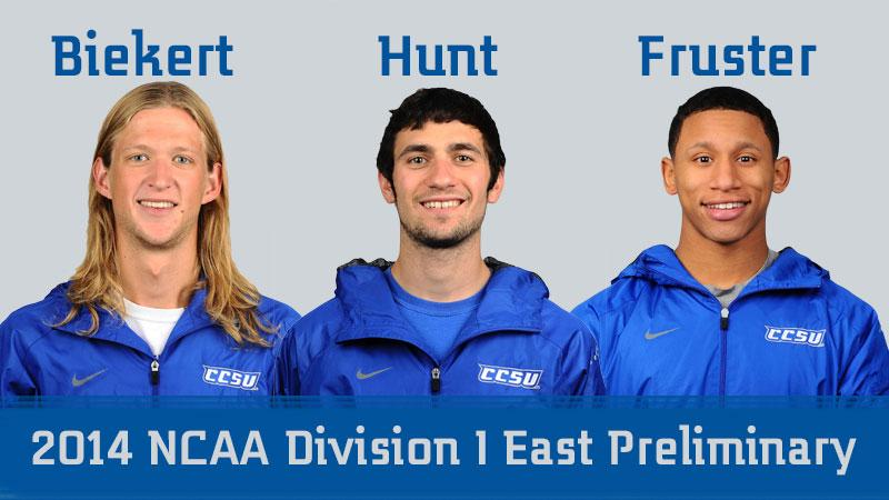 Trio Set for NCAA East Preliminary