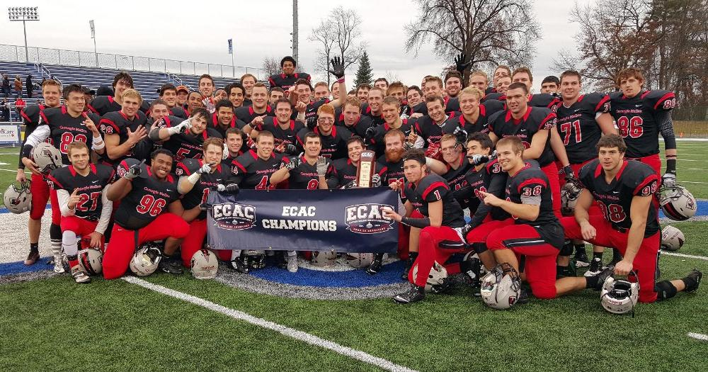 Tartans Win ECAC Legacy Bowl 48-13 Over Bridgewater State