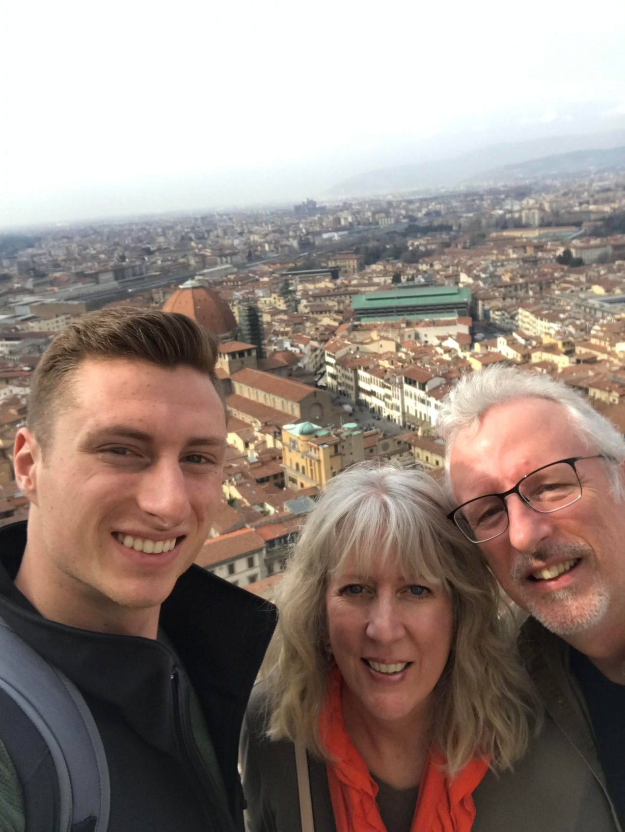 The Dole Family in Florence